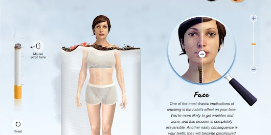 Graphic Shows The Shocking Effects Smoking Can Have On The Body