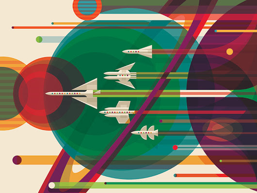 NASA's Giving Away Brilliant Space Travel Posters For Free