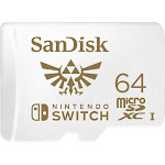 SanDisk - 64GB microSDXC Memory Card for Nintendo Switch