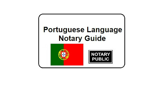 Portuguese Language Notary Guide - Notary Colorado Springs