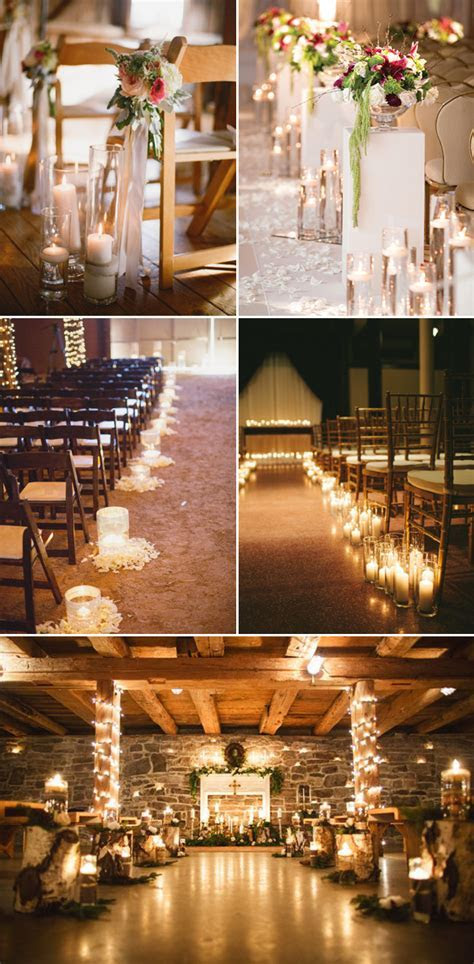 35  Chic Wedding Ceremony Aisle Markers   Deer Pearl Flowers