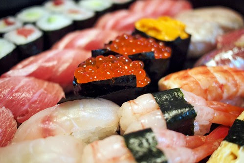 New Year Sushis - Japan