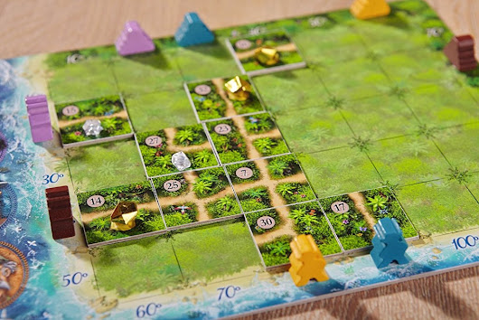 Karuba: Lush green tile-placement fun! | The Game Aisle