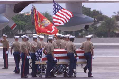 Marine Raiders Return Home PHOTO