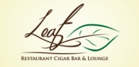 Mike Lichtenberger, Linora Gula, Michelle Murphy present at Leaf Restaurant and Cigar Bar