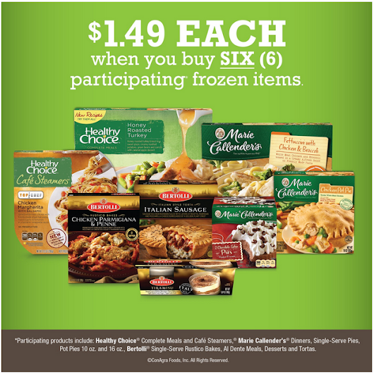 Kroger: Buy 6 Frozen Meals & the Price Drops to $1.49 Each - Couponing 101