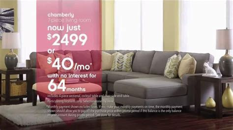 ashley furniture homestore labor day event tv commercial