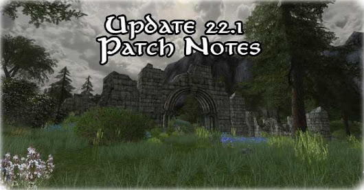 Update 22.1: Patch Notes | HdRO Community | 2018