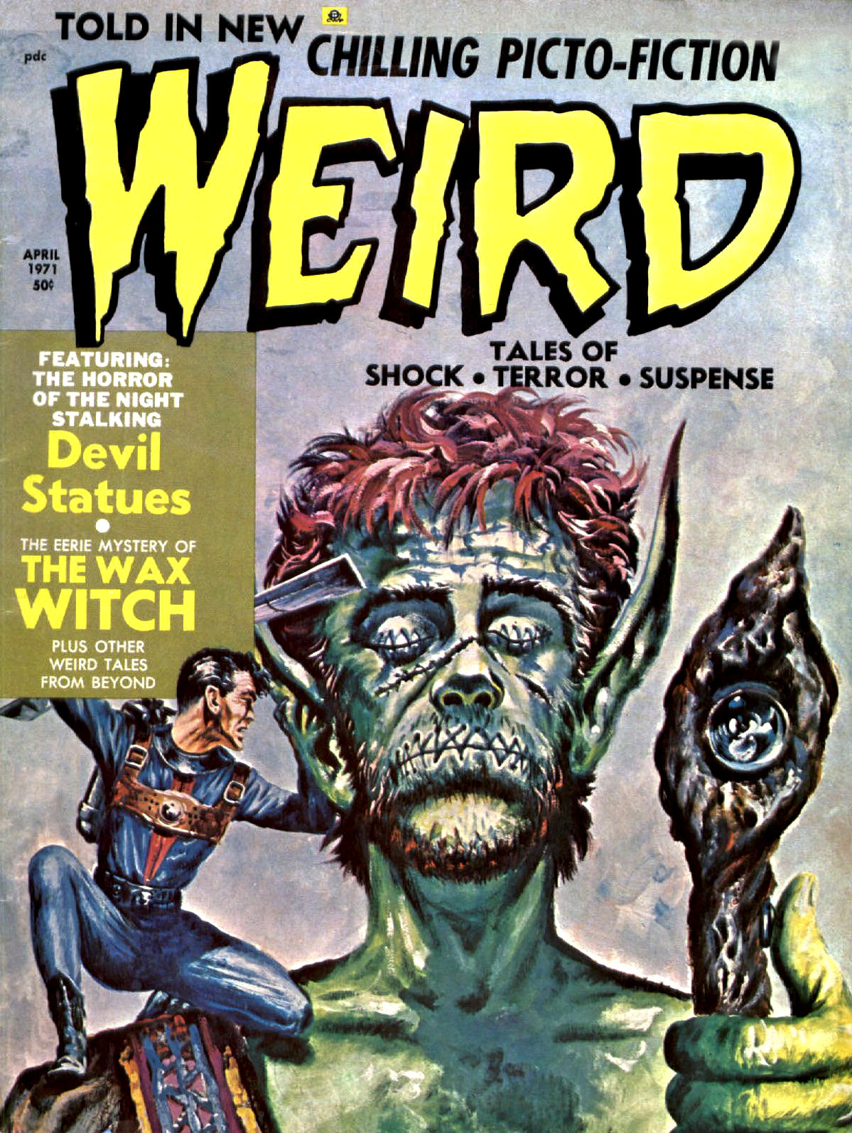 Weird Vol. 05 #2 (Eerie Publications, 1971)