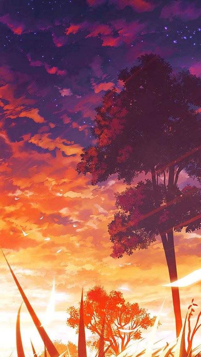 Anime Scenery Wallpaper - WallpaperSafari