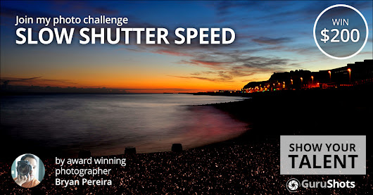 Slow Shutter Speed Photo Challenge