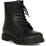 Jelly PVC Lace Up Combat Boot