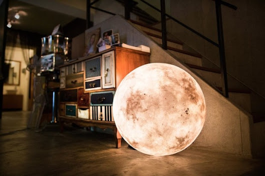 It's the Moon, and It's in Your Room | The Creators Project
