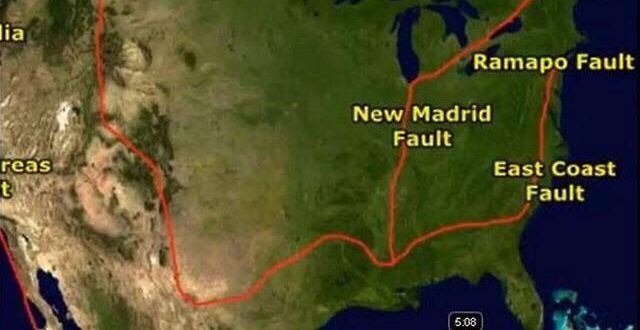 The Ramapo Fault Is The Longest Fault In The Northeast