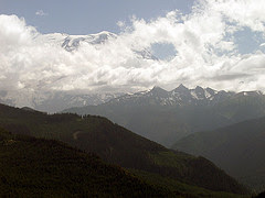 Mt Rainier From Haller Pass