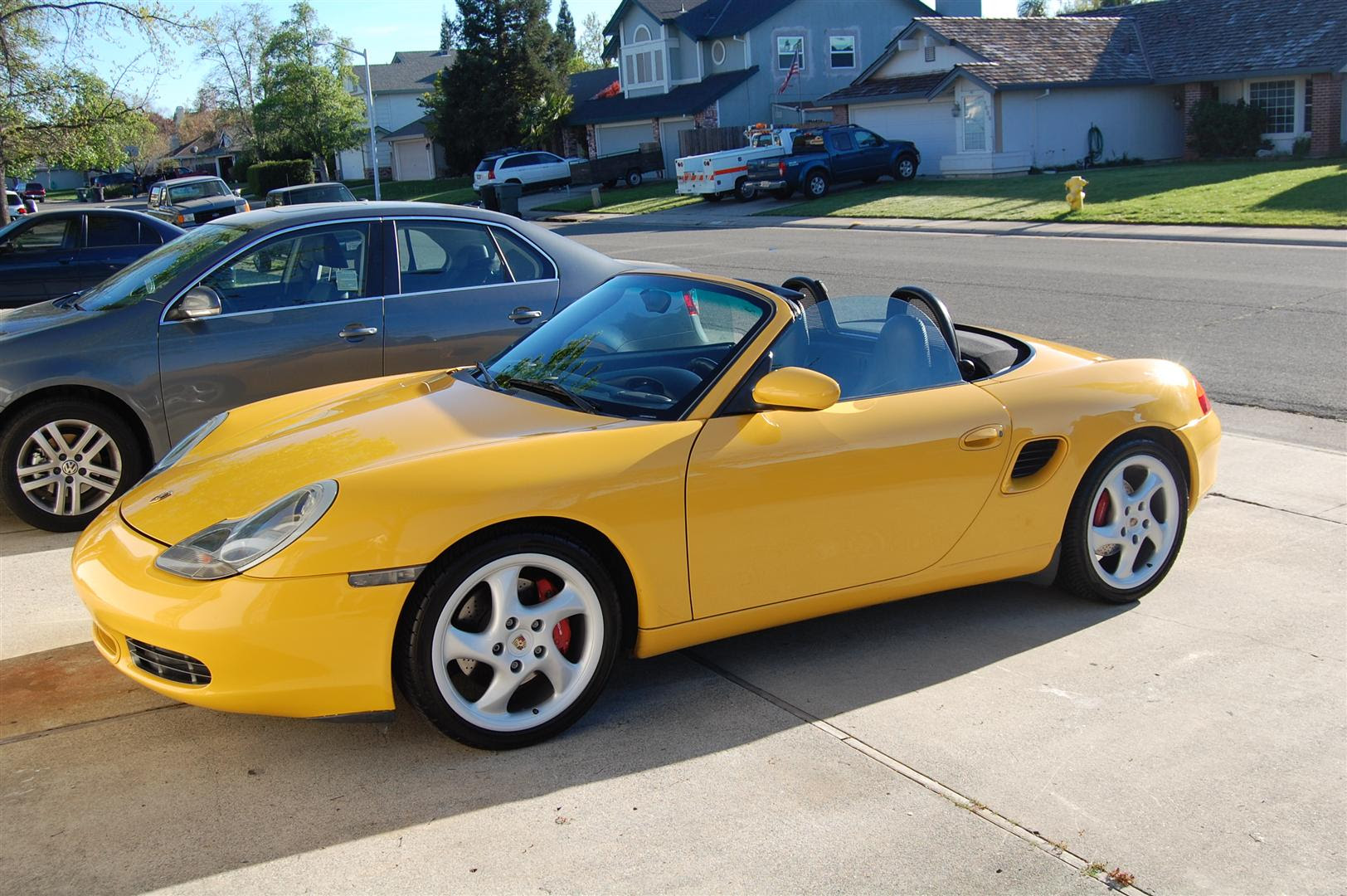 2000 Speed Yellow Boxster S All Books Keys Records In