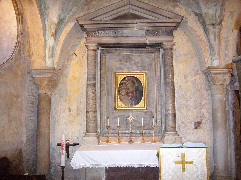 File:Trastevere - s Benedetto in Piscinula cappella 1040038.JPG