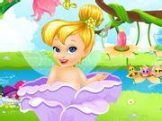 Fairytale Baby   Tinkerbell Caring   Play The Girl Game Online