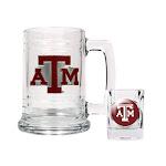 Non Metal Collegiate Texas A & M Shot Glass And Mug Set (Length=8.69) (Width=3.75) Gc1975