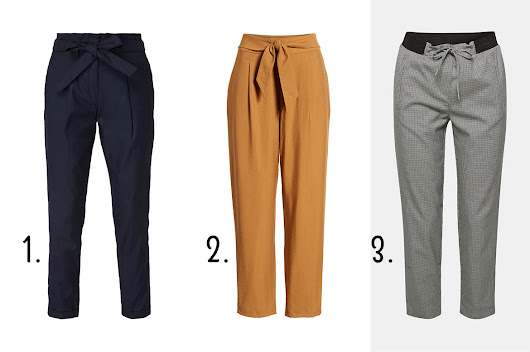 The most beautiful pants for fall 2018