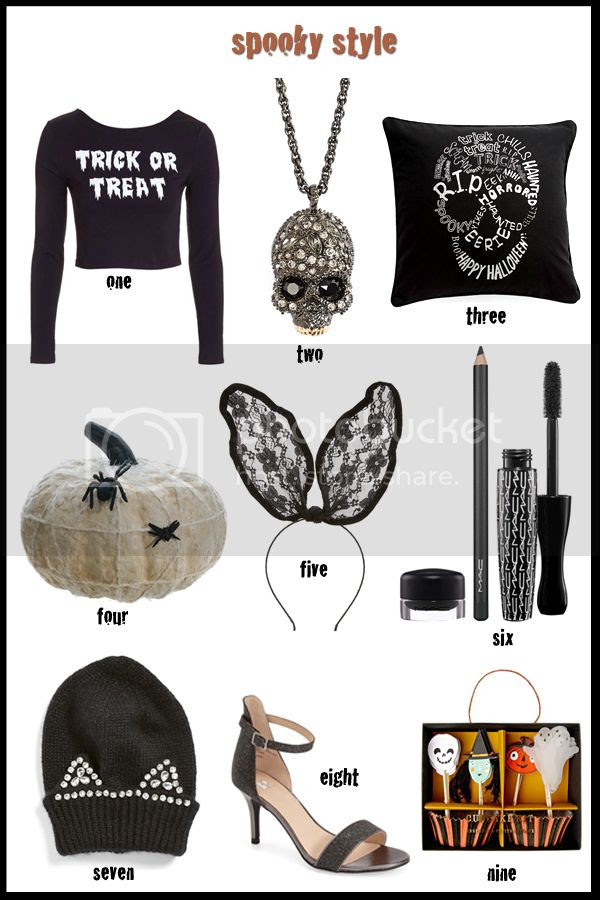 Halloween themed fashion trends for fall 2015