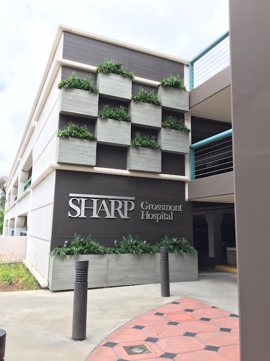 Sharp Hospital Parking Structure Gets a Facelift - Planters Unlimited Blog