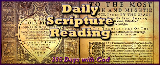 Daily Scripture Reading 1-24 | The Crucified Life Ministries