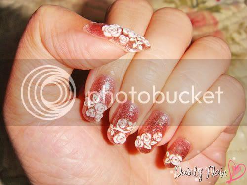 simple creative nail art