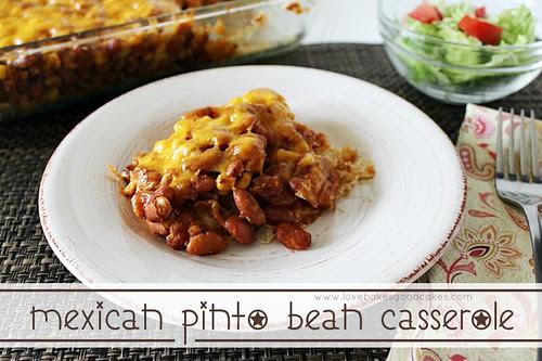 Mexican Pinto Bean Casserole3