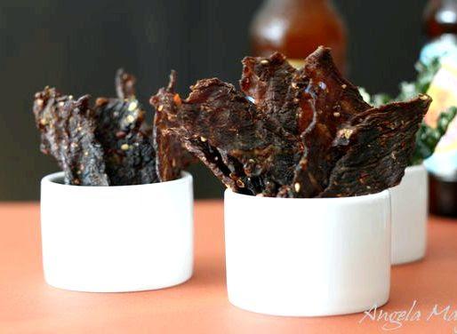 Spicy beef jerky recipe for dehydrator
