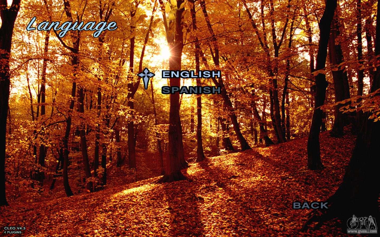 Autumn Menu For Gta San Andreas