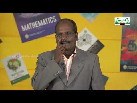 ஜியாமெட்ரி பாக்ஸ் Std 8 Maths வாழ்வியல் கணக்குகள் Part 2  Kalvi TV