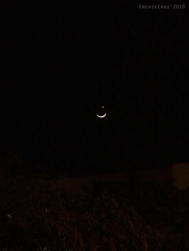 Moon and Star May 16, 2010