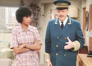 Marla Gibbs and Ned Wertimer