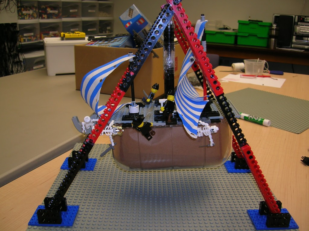Amusement Park Ride Lego Engineering