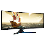 "Lenovo Legion 44"" Class Curved 3840x1200 FreeSync2 Gaming Monitor"