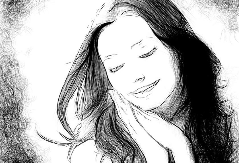 Effetto Disegno A Matita Una Foto In Uno Schizzo Con Akvis Draw