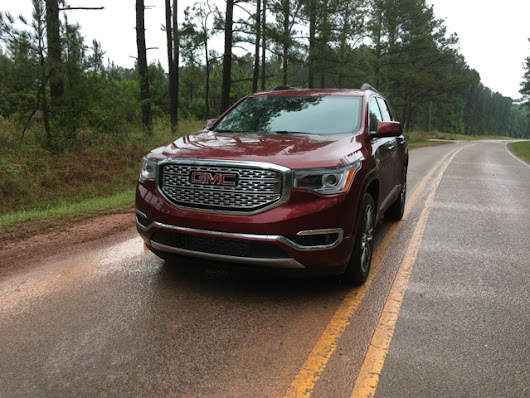 Smaller, Lighter 2017 GMC Acadia Impresses — Auto Trends Magazine