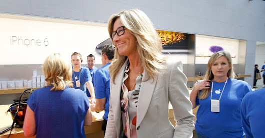 Apple Executive Seeks a Touch of Chic at Retail Stores - The New York Times