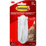Command Large Sized Designer Hook White