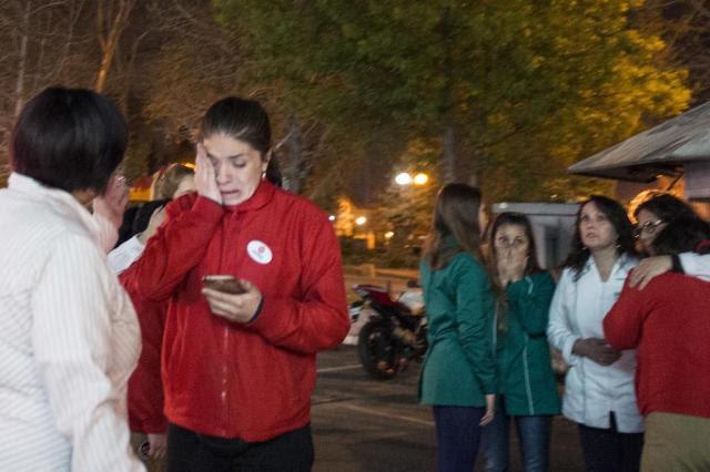Terremoto de 8,4 graus provoca alerta de tsunami no Chile Martin Bernetti/AFP
