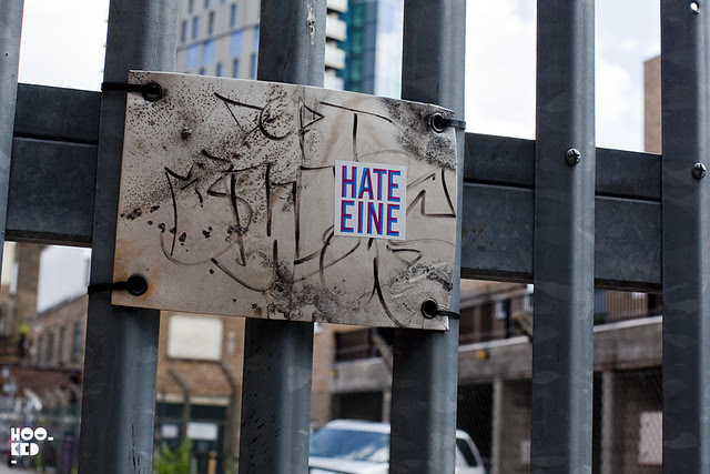 Ben Eine - Shoreditch Street Art Stickers