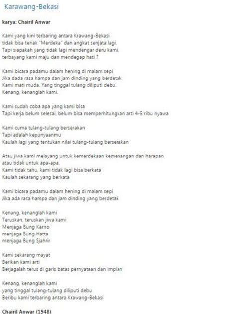 puisi tentang hari kemerdekaan  agustus  kabar hh