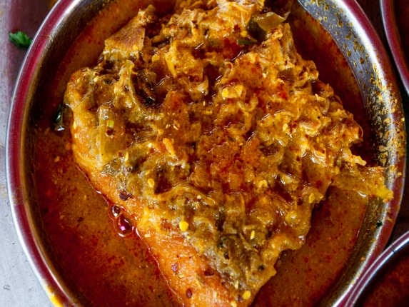 Which Indian dish is very tasty but not available in other parts of India?