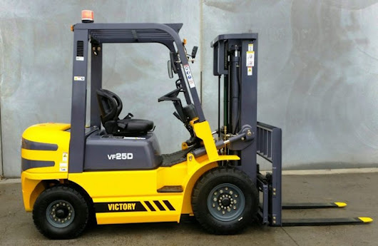 Review: 2016 Victory VF25D Counterbalance Forklift