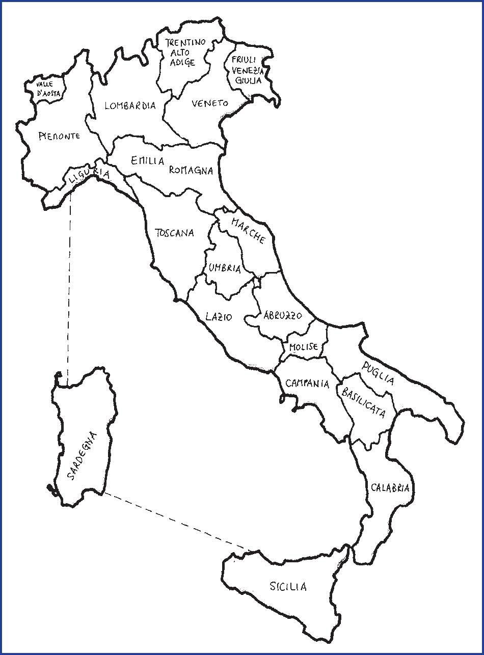 Cartina Italia Da Colorare Con Regioni.Download 34 Immagine Italia Politica Da Colorare Islamique Background Hd