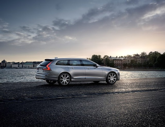 Is the 2018 Volvo V90 the World's Most Glamorous Wagon? — Auto Trends Magazine