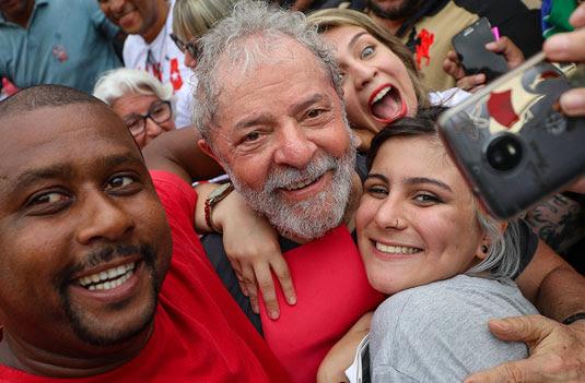 Visita do ex-presidente Lula em Magé, no Rio de janeiro Foto: Ricardo Stuckert