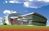 New Baghdad stadium pre-bomb damage (artists impression)