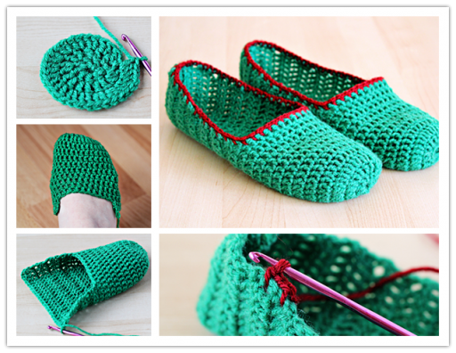 How To Crochet Simple Slippers Step By Step Instructions | How To Instructions